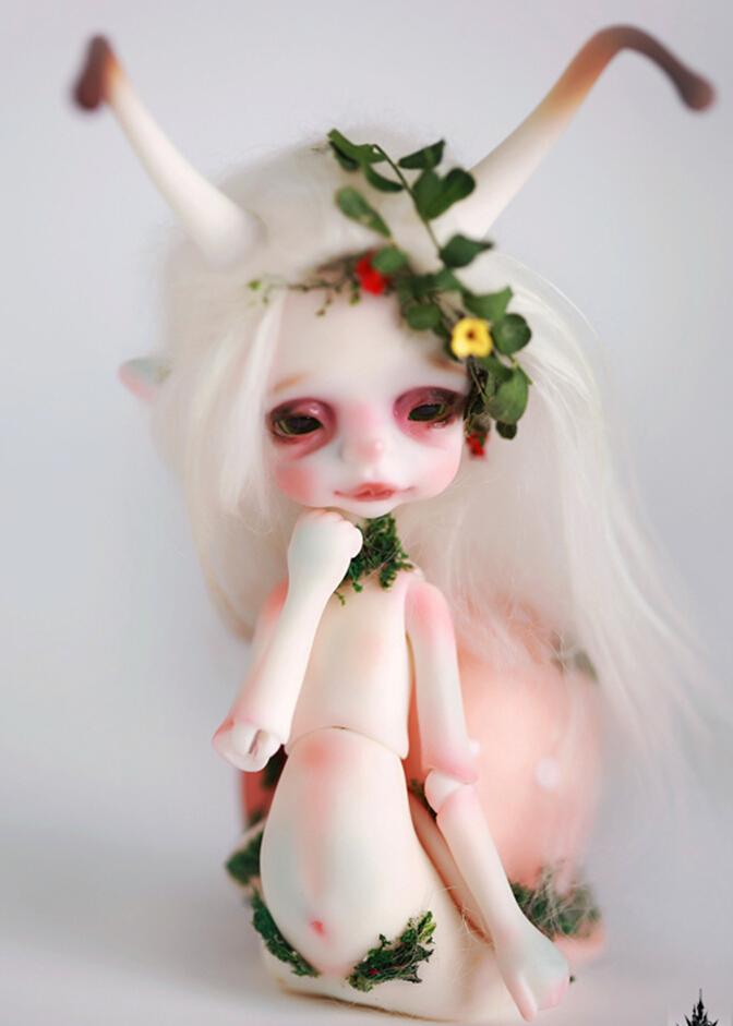 Larry small snail free eyes Bjd 1//8 doll